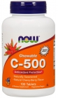 Vitamin C-500 Chewable Cherry-Berry Flavor 100 таблеток