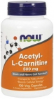 Acetyl-L-Carnitine 500 mg 100 капсул