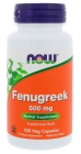 Fenugreek 500 мг 100 капсул