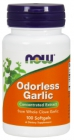 Odorless Garlic 50 mg 100 softgels