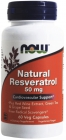 Natural Resveratrol 50 мг 60 капсул