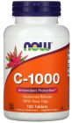 Vitamin C-1000 with Sustained Release and Rose Hips 100 таблеток