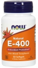 Vitamin E-400 Mixed Tocopherols 50 гел. капсул