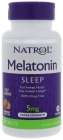 Melatonin Fast Dissolve Strawberry 5 мг 90 таблеток
