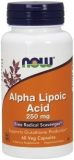 Alpha Lipoic Acid 250 mg     60 caps