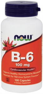 Vitamin B-6 100 mg 100 caps