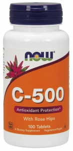 Vitamin C-500 With Rose Hips 100 таблеток