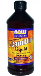 L-Carnitine Liquid Citrus Flavor 3000 mg 473 ml