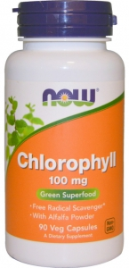 Chlorophyll 100 mg 90 vcaps