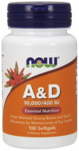 A / D 10.000/400 IU 100 softgels