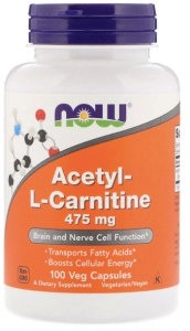 Acetyl-L-Carnitine 475 мг 100 капсул
