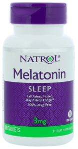 Melatonin 3 мг 60 таблеток
